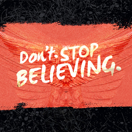Don't Stop Believing series artwork